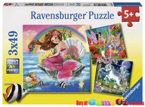 mythical creatures ravensburger childrens jigsaw puzzle 3