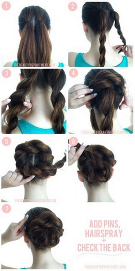 easy hair styles for dances hairstyles for dances