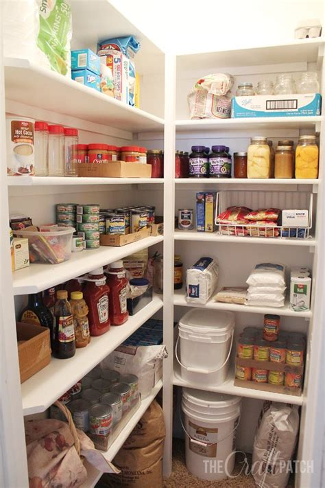 hometalk how to build pantry shelves