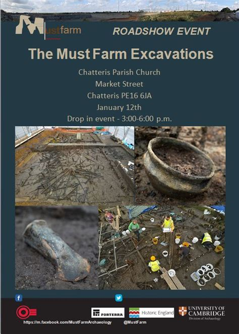 Must Farmers by The Mustfarm Excavations Must See Roadshow Event At