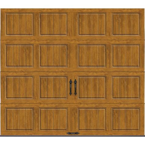9 Ft Garage Door Clopay Gallery Collection 9 Ft X 7 Ft 18 4 R Value Intellicore Insulated Solid Ultra Grain