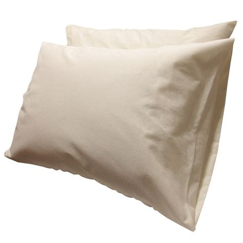 Pillow Protectors Cotton by Organic Cotton Jersey Pillow Protector Pair Gotcha Covered