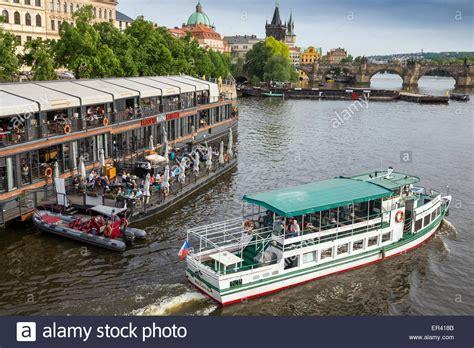 floating boat restaurant prague floating boat restaurant in old town on river vltava