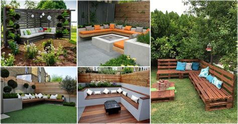 corner seating areas perfect  small  spacious gardens