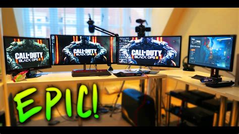 gaming setup creator epic gaming setup ali a gaming setup 2016 new youtube