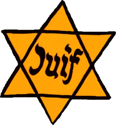 photographs & overview of jewish badges in the holocaust