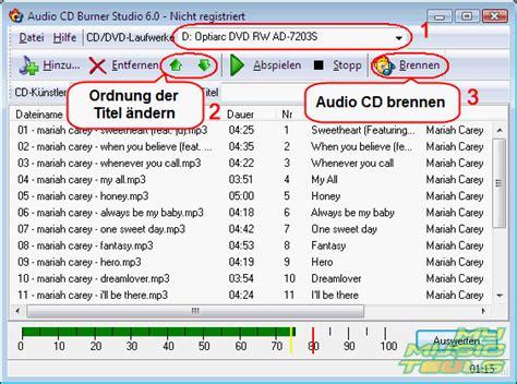 format zum dvd brennen wie kann ich eine audio cd brennen audio cd erstellen