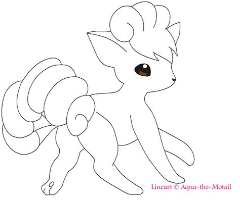 pokemon coloring pages vulpix vulpix coloring pages download and print for free