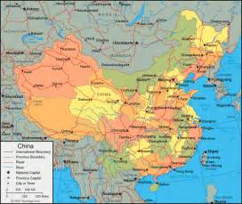 Map China by China Map And Satellite Image