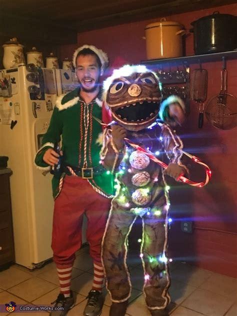 creepy gingerbread man costume photo