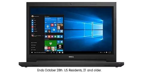 Microsoft Laptop Giveaway - dealmax dell inspiron laptop giveaway