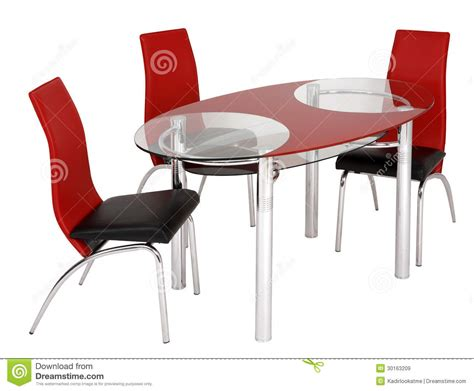 Free Dining Table And Chairs Glass Dining Table And Chairs Royalty Free Stock Images Image 30163209