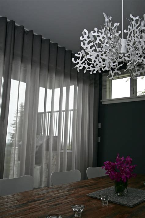 Soft grey sheers part two curtain otaku