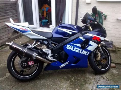 Suzuki Gsxr 600 Sale 2004 Suzuki Gsxr 600 K4 For Sale In United Kingdom