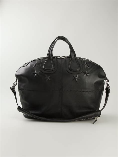 Givenchy Nightingale by Givenchy Large Nightingale Tote In Black For Lyst