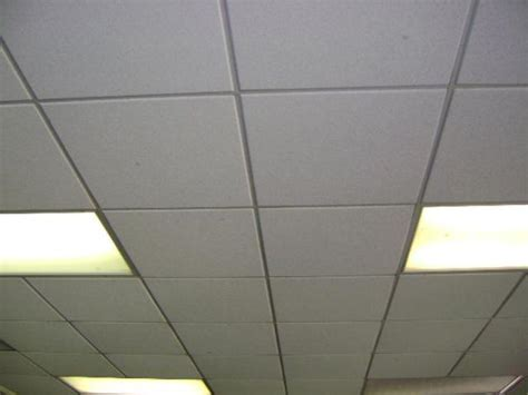 contents of rm 17 ceiling tile recessed lights