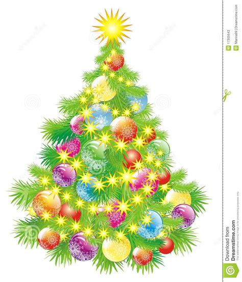 tree baubles tree with baubles stock photos image 17305643