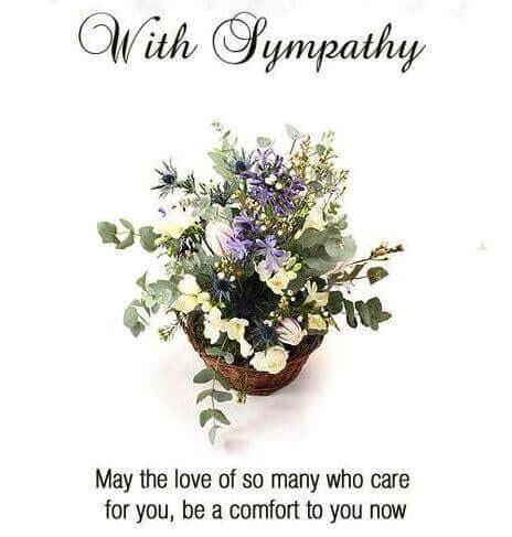 condolence card message & sympathy quotes