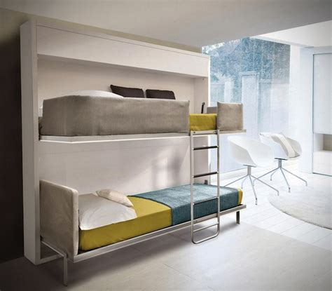 bunk beds for small spaces small spaces urban lollisoft murphy bunk beds hiconsumption
