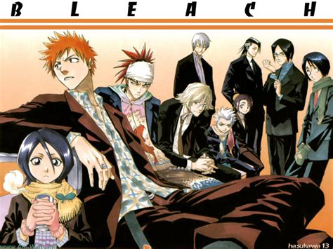 anime bleach cartoon picture collection bleach manga wallpapers