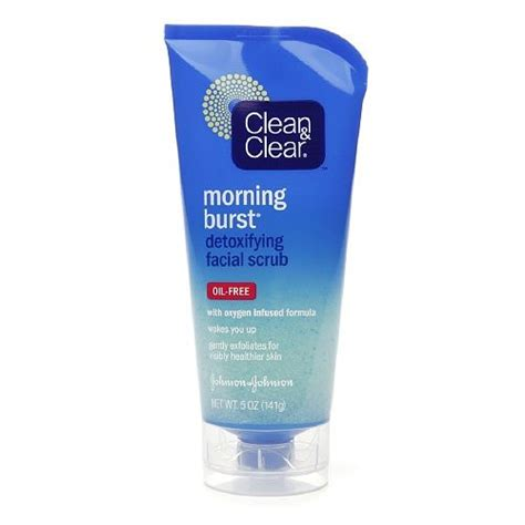 clean and clear bursting review clean clear morning burst detoxifying scrub
