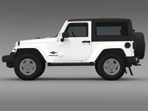 Jeep Wrangler Model Jeep Wrangler Freedom 2014 3d Model In 3d Studio Max File