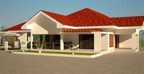 how much to build a 4 bedroom house house plans ghana naomi 4 bedroom house plans in ghana 2