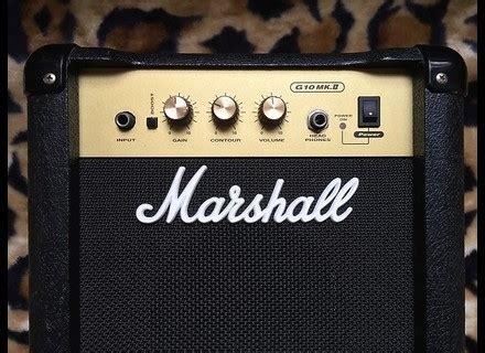 transistor g10 g10 mk ii marshall g10 mk ii audiofanzine
