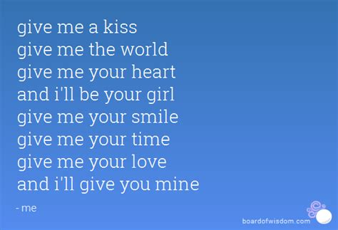 i ll be you and you be me a vintage ode to friendship and give me a give me the world give me your and i