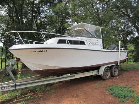 ebay walkaround boats mako 238 walk around cuddy 1982 for sale for 6 000