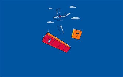 threadless tetris airplane clouds blue wallpapers hd