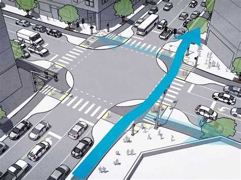 Barry Berkus by A New Bike Lane That Could Save Lives And Make Cycling