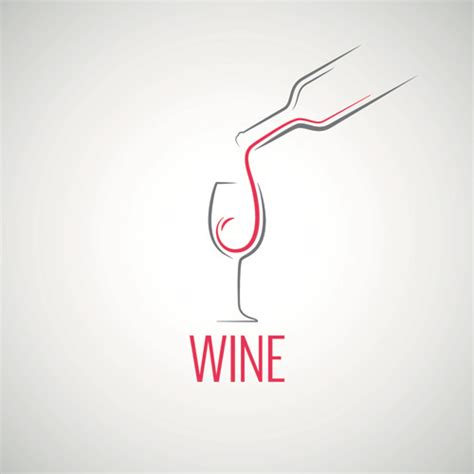 design logo elegant elegant wine logo design graphic vector free vector in