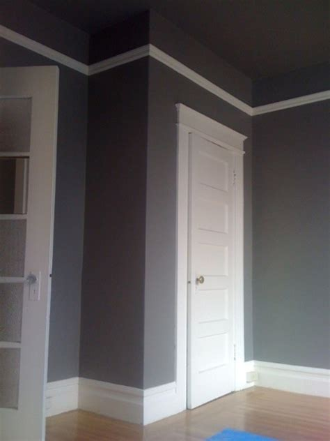 Grey Ceiling Paint by Plush Palate Project Sf Home Week 5 Painting Begins