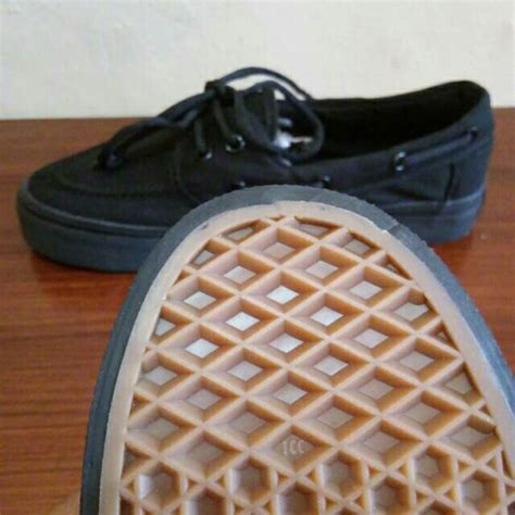 Vans Autnetic Waffle Icc Import by Jual Sepatu Vans Zapato Zapatto Japato All Black
