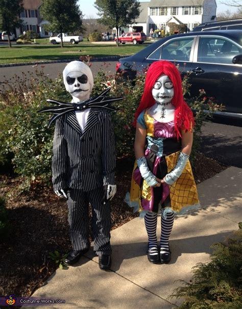 kids sally halloween costume jack and sally kids costumes