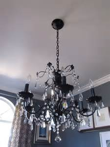 Painting A Chandelier Diy Paint A Hideous Brass Chandelier Nesting