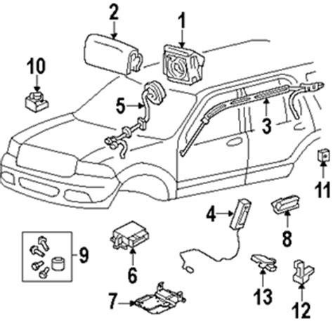 airbag deployment 2000 dodge stratus seat position control 2004 passat front air bag sensor location fixya