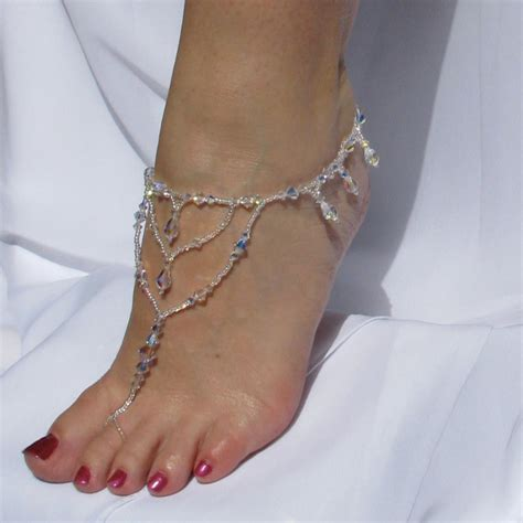 etsy barefoot sandals barefoot sandals foot jewelry by twobewedjewelry