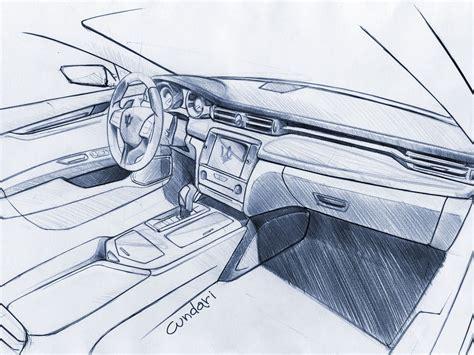 la bella macchina maserati quattroporte sketches