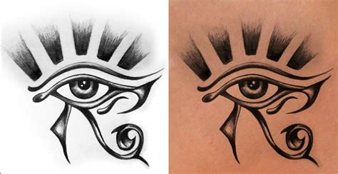 tattoo design eye horus horus eye tattoo images designs