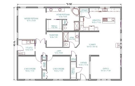 3 bedroom ranch floor plans home design 81 astounding 3 bedroom floor planss