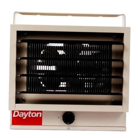 dayton 3ug73 garage heater with builtin thermostat