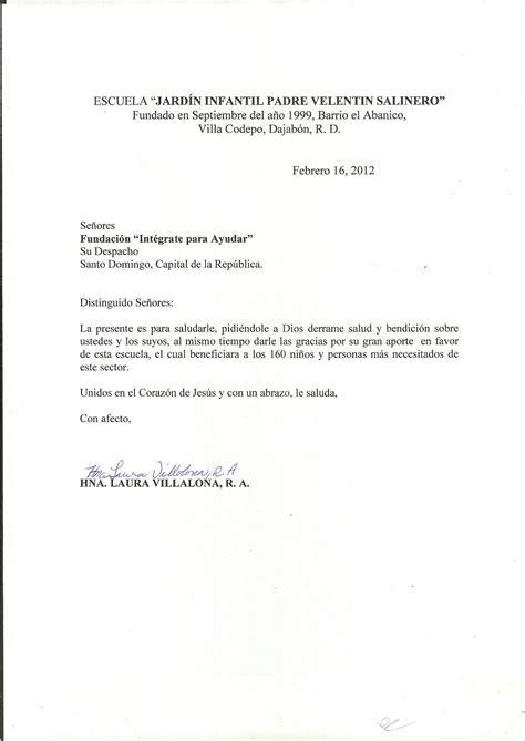 carta de retiro de jardin infantil int 233 grate para ayudar