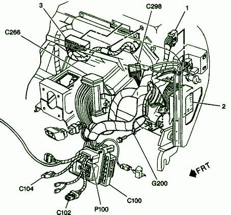 5 7 liter chevy engine diagram automotive parts diagram