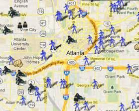 Atlanta Crime Map by Home Security Atlanta Ga Home Security System