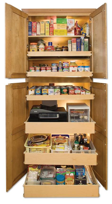 Kitchen Food Pantry Cabinet by 17 Best Images About Kitchen Organization On