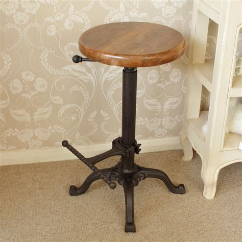 bar stool top replica tractor seat bar stool with wooden top melody