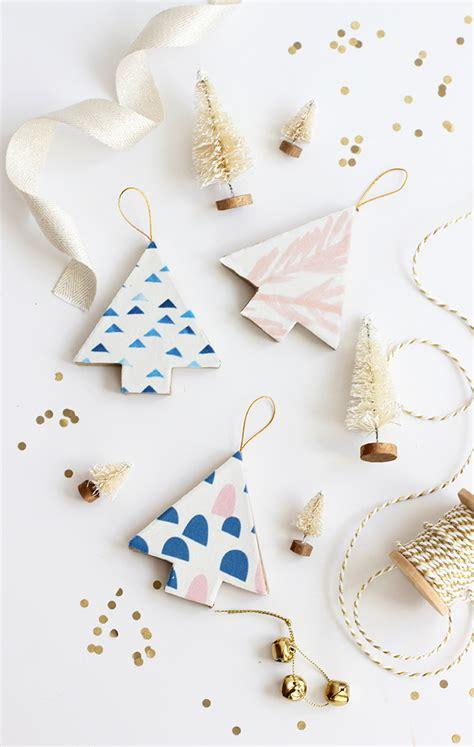 diy tree ornament and loisdiy fabric covered tree ornaments