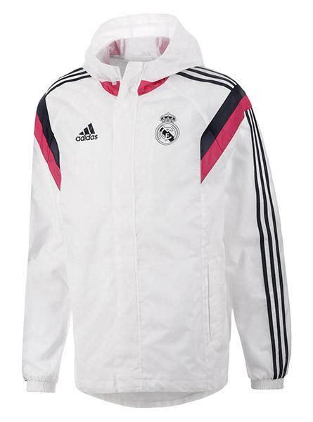 Jaket Real Madrid By Jayasporty adidas real madrid anthem all weather jacket mens